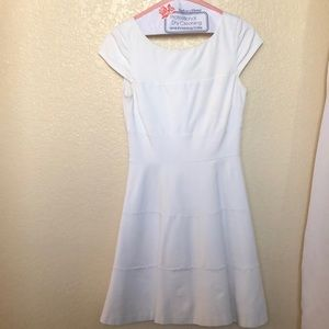 Banana republic white dress in 4p A-line